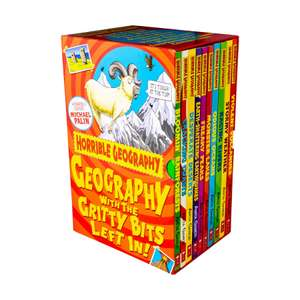 Horrible Geography 10 book collection £5.50 delivered @ BOOKS2DOOR