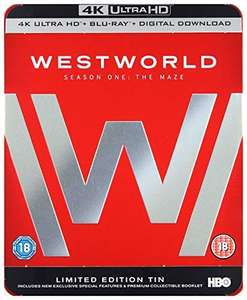 Westworld - Season 1 on 4k UHD Limited Edition Tin with collectible booklet £20.46 @ Amazon