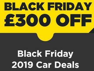 £300 off a used or delivery-mileage car at Arnold Clark