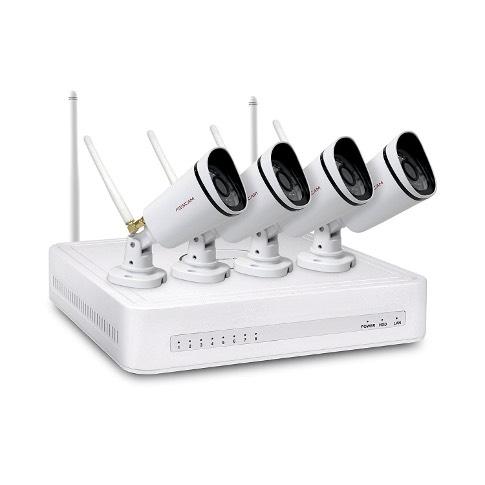 Foscam FN3104W Complete 4 Camera WiFi CCTV Kit £149.99 @ Foscam UK