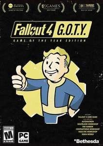 Fallout 4: Game of the Year Edition PC £7.49 steam key at cdkeys
