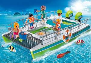 Playmobil glass-bottom boat £8.44 +£3.50 delivery) @ Playmobil