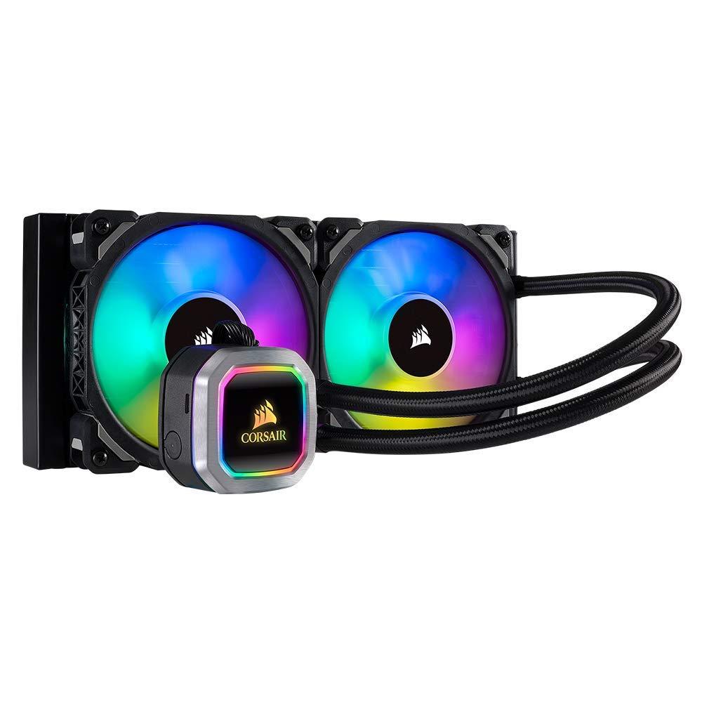 Corsair Hydro Series H100i RGB Platinum Black (Renewed) £89.99 @ Amazon