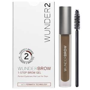 WUNDER2 WUNDERBROW Long Lasting Eyebrow Gel for Waterproof Eyebrow Makeup, ALL COLOURS - £11.97 (Prime or £4.49 NP) £8.98 S&S