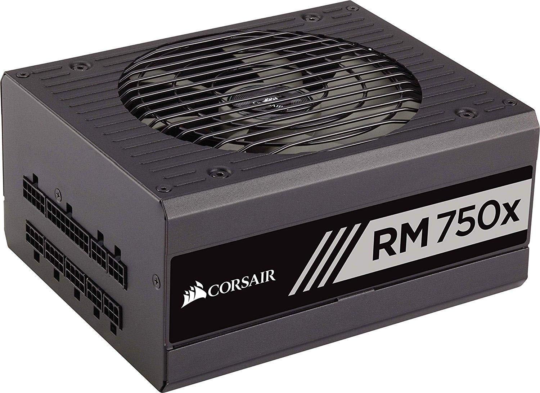 Corsair RM750x 80 PLUS Gold, 750 W Fully Modular ATX Power Supply Unit - Black £82.99 @ Amazon