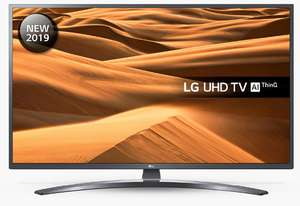 "LG 49UM7400PLB (2019) LED HDR 4K Ultra HD Smart TV, 49"" with Freeview Play/Freesat HD £349 @ John Lewis & Partners"