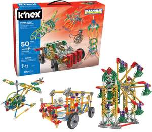 K'NEX Imagine Power and Play Motorised Building Set for Ages 7 and Up, Construction Educational Toy, 529 Pieces £24.99 - on Amazon