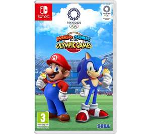 NINTENDO SWITCHMario & Sonic at the Olympic Games Tokyo 2020 £36.99 @ curry's