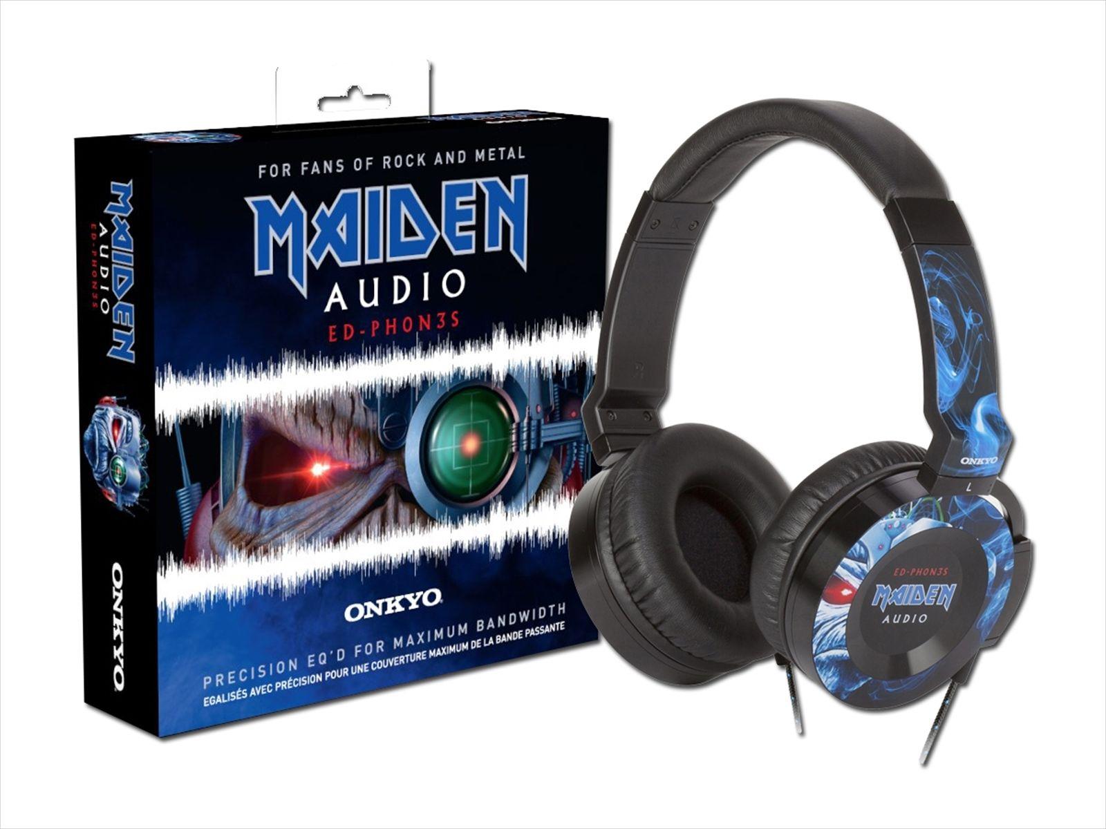 Maiden Audio By Onkyo Edph0N3S Headphones (Iron Maiden) for £49.99 at HMV