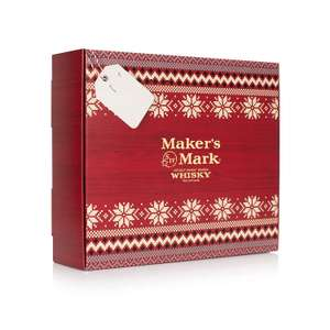Maker's Mark Bourbon Whisky with Adult Large Christmas Jumper Gift Set, 70 cl - Amazon - £47.00
