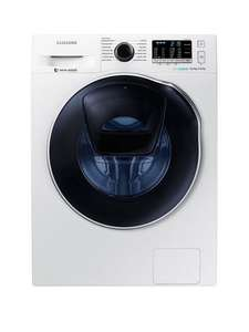 Samsung WD80K5B10OW/EU 8kg Wash, 6kg Dry, 1400 Spin AddWash Washer Dryer with ecobubble Technology White £599.99 (£546.99 with code) @ Very