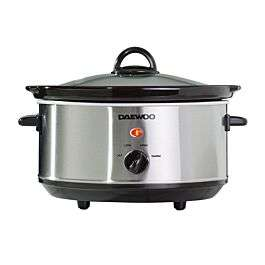 Daewoo 3.5L Slow Cooker - Stainless Steel £12.74 @ Robert Dyas