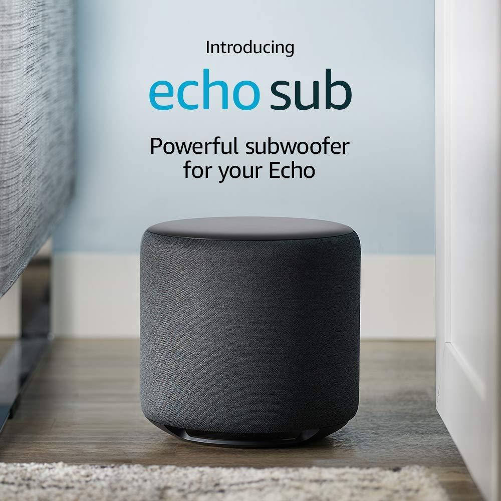 certified refurbished echo sub £76.99 @ Amazon *new lower price