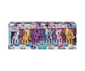 "My Little Pony Magic of Every Pony Collection (6 Figures+6"" Tall) £15.99 @ BargainMax (Free P&P)"