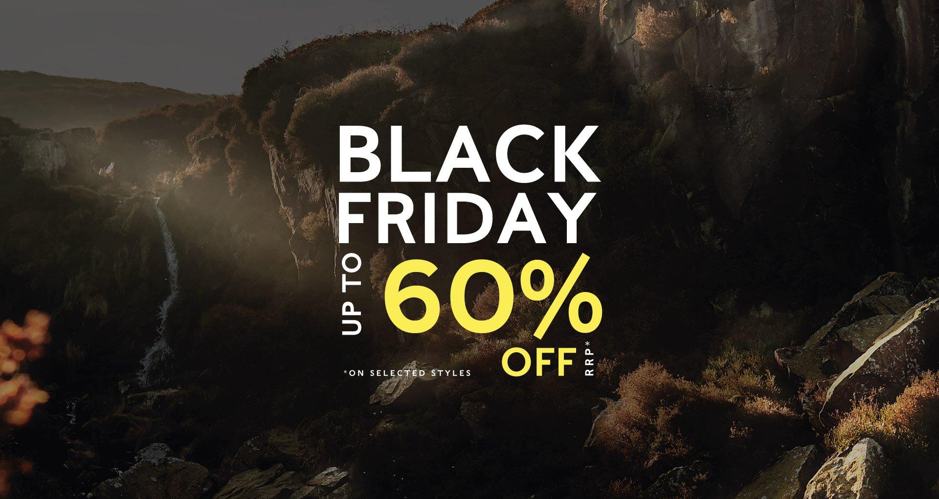 Up to 60% off Black Friday Sale @ Tog24