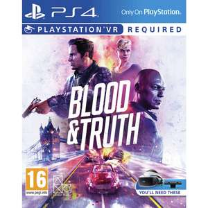 Blood and Truth PSVR PS4 £15.99 at Argos