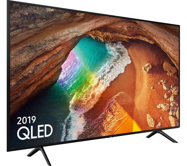 "SAMSUNG QE43Q60RATXXU 43"" Smart 4K Ultra HD HDR QLED TV with Bixby - £509 with code @ Currys PC World"