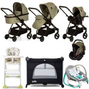 Hauck I'coo Acrobat Everything You Need Travel System Bundle at Online4Baby - £319.95