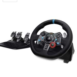 Logitech G29/G920 Driving Force Racing Wheel and Floor Pedals Without Shifter - £119.99 - Lightning Deal @ Amazon