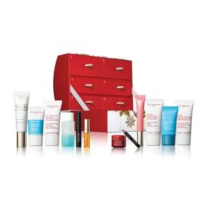 12 Days of Christmas Advent Calendar for Women 15% Off +3 free gifts when going through checkout - £51 @ Clarins +8% TCB