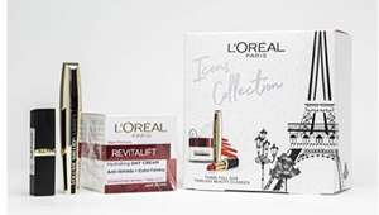 L'Oreal Paris Beauty Icons Gift Set - £10.44 (Prime) £14.93 (Non Prime) @ Amazon
