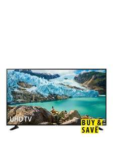 Samsung UE50RU7020KXXU 50 inch HDR Smart 4K TV with Apple TV app £379 (open new account to get £50 off) @ Very