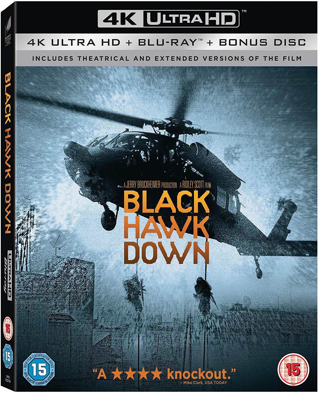 Black Hawk down [2002] Extended 4K Blu-Ray £11.98 @ Amazon