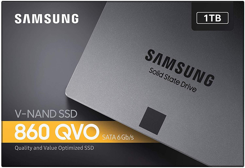 "Samsung 860 QVO 1TB SATA 2.5"" Internal SSD - £83.33 delivered @ Amazon France"