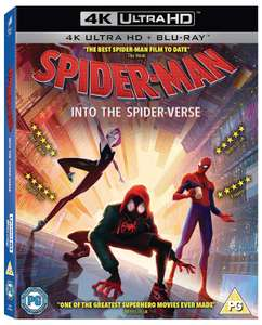 Spider-Man Into the Spider-verse 4K (Ultra HD + Blu-ray) Any 3 4k Uhd Movie Titles for £30.00 @ Zoom (Free P&P)