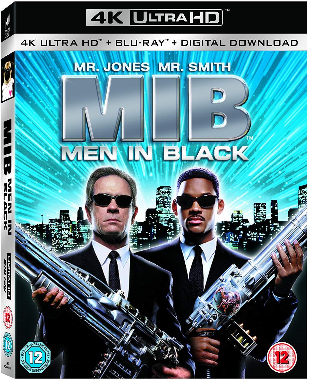 Men In Black [4K Ultra HD [1997] [Region Free] 4K + Blu-ray + Digital copy £9.99 @ Amazon