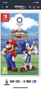Mario and Sonic at the Olympic Games Tokyo 2020 For Nintendo Switch - £36.99 @ Amazon