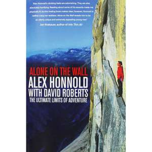 Alex Honnold Alone on the Wall book £2 (Free Click & Collect) from The Works