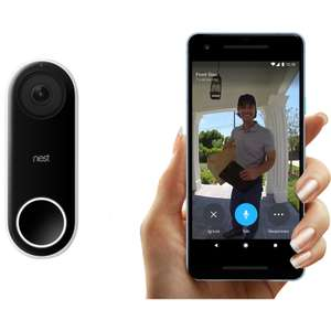 Nest Hello Doorbell NC5100GB - £139.99 + Free delivery with voucher code from Toolstation