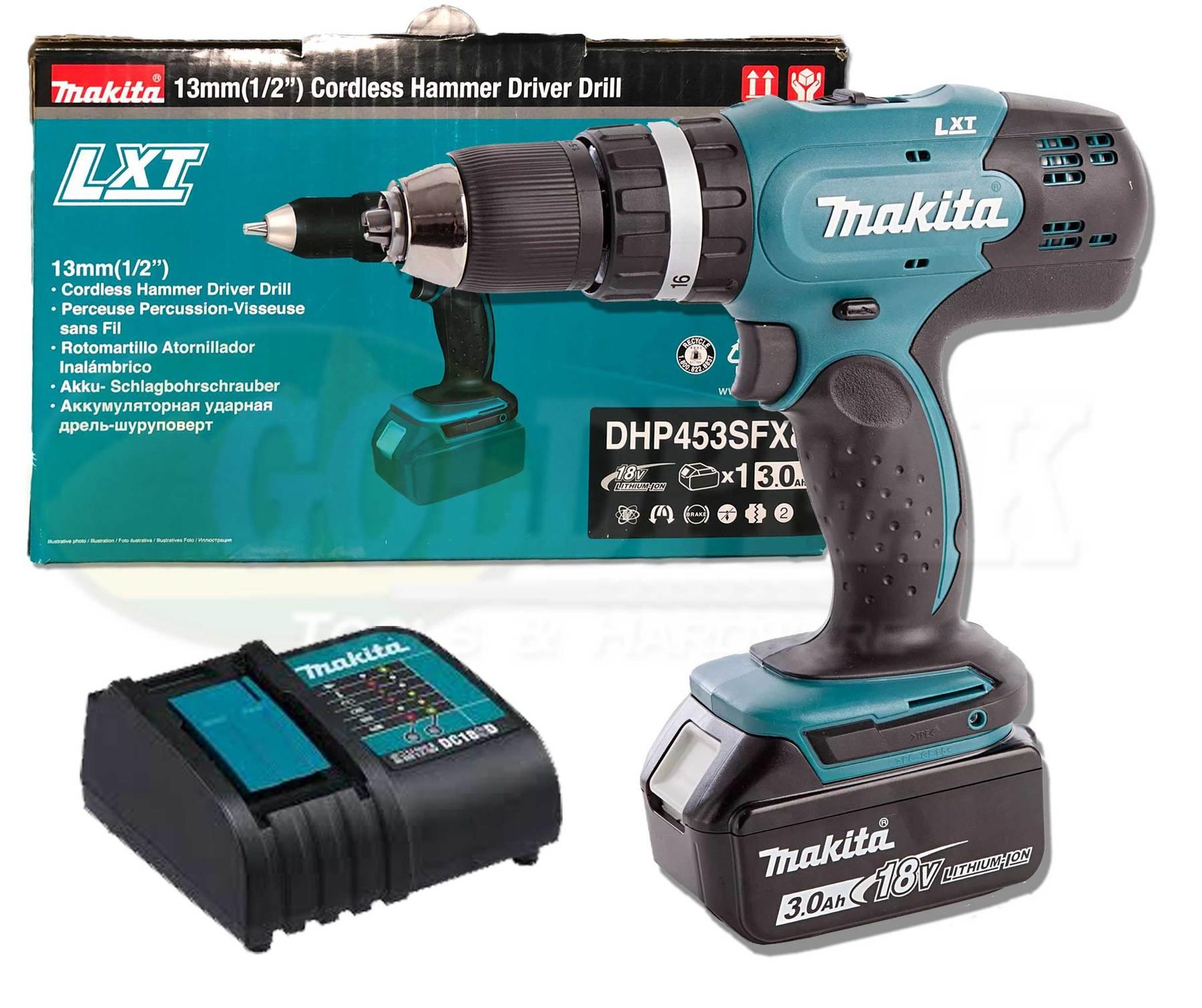 Makita 18V LXT 3Ah Li-Ion Cordless Combi Drill £89.94 delivered @ CPC