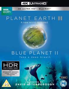 Planet Earth II & Blue Planet II Box Set 4K UHD for £21.98 Delivered @ Amazon