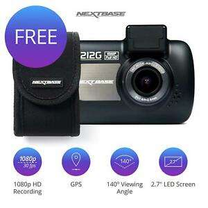 Nextbase 212G Car Dash Cam Camera Recorder 1080p with Free Carry Case for £32.95 delivered @ eBay / Velocity Electronics