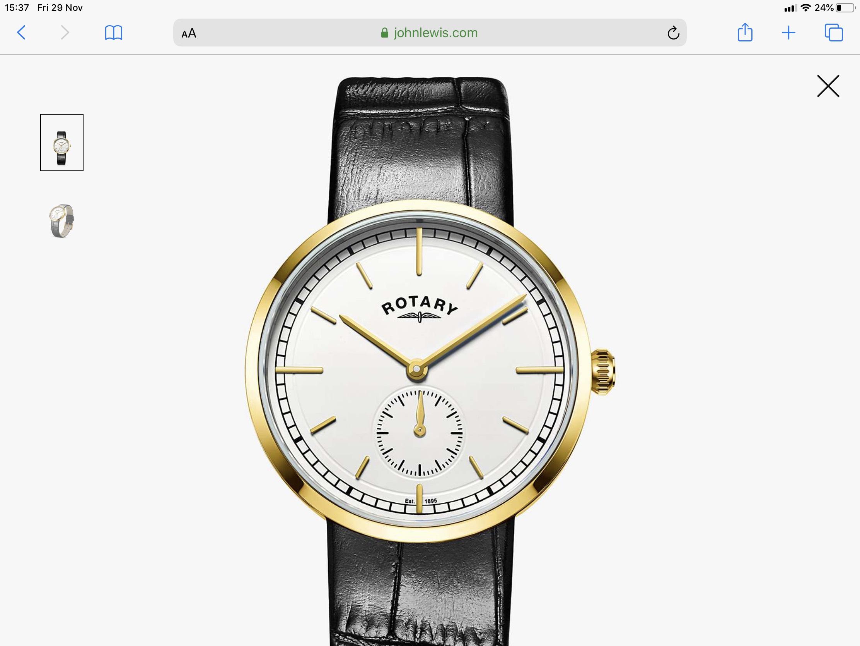 Rotary GS050602/02 Men's Watch £31.15 @ John Lewis