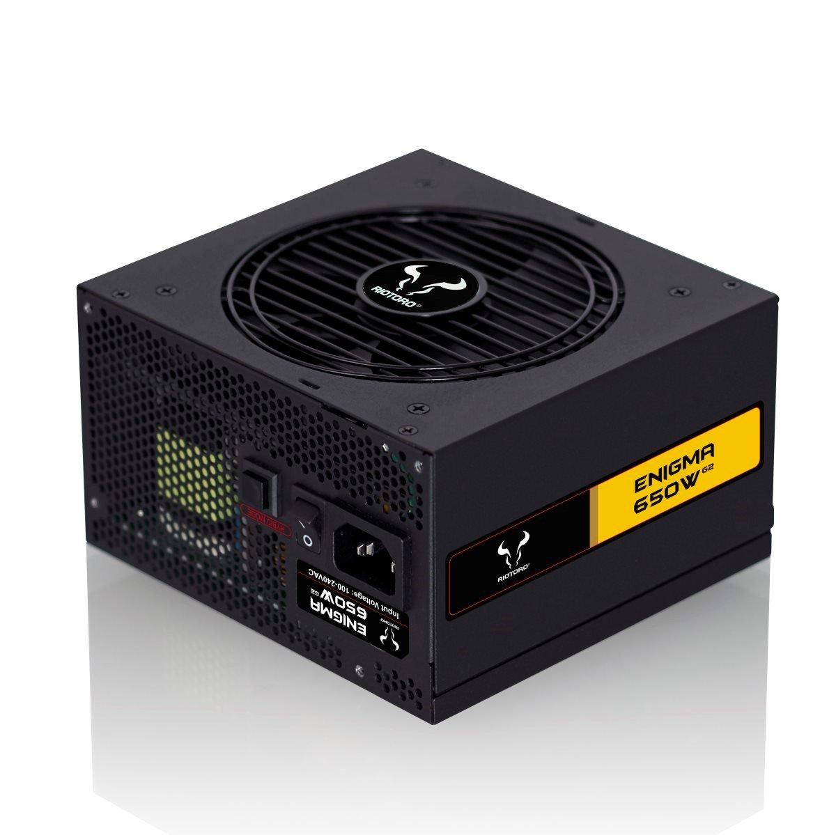Riotoro Enigma G2 650W Modular 80+ Gold PSU - (PSU1500) - £59.99 delivered @ CCLOnline