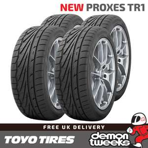 4 x Toyo TR1 195 50 15 82V Proxes High Performance Road Tyres £94.47 delivered @ Demon Tweeks