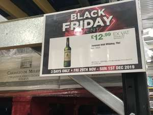 Jameson £15.58 at Costco (found in Leicester store)