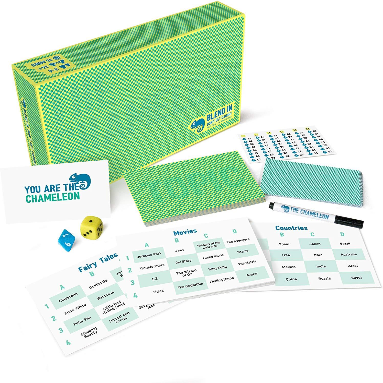The Chameleon Board Game: Multi Award-Winning Family Game £18.99 @ Amazon Prime / £23.48 Non Prime