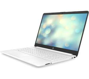 """HP 15s-fq1515sa 15.6"""" Laptop - Intel® Core™ i3, 128 GB SSD, White - £279 delivered @ Currys PC World"""