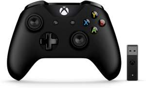 Microsoft PC Xbox Black Controller, with Wireless Adapter for Windows £32.99 @ Amazon