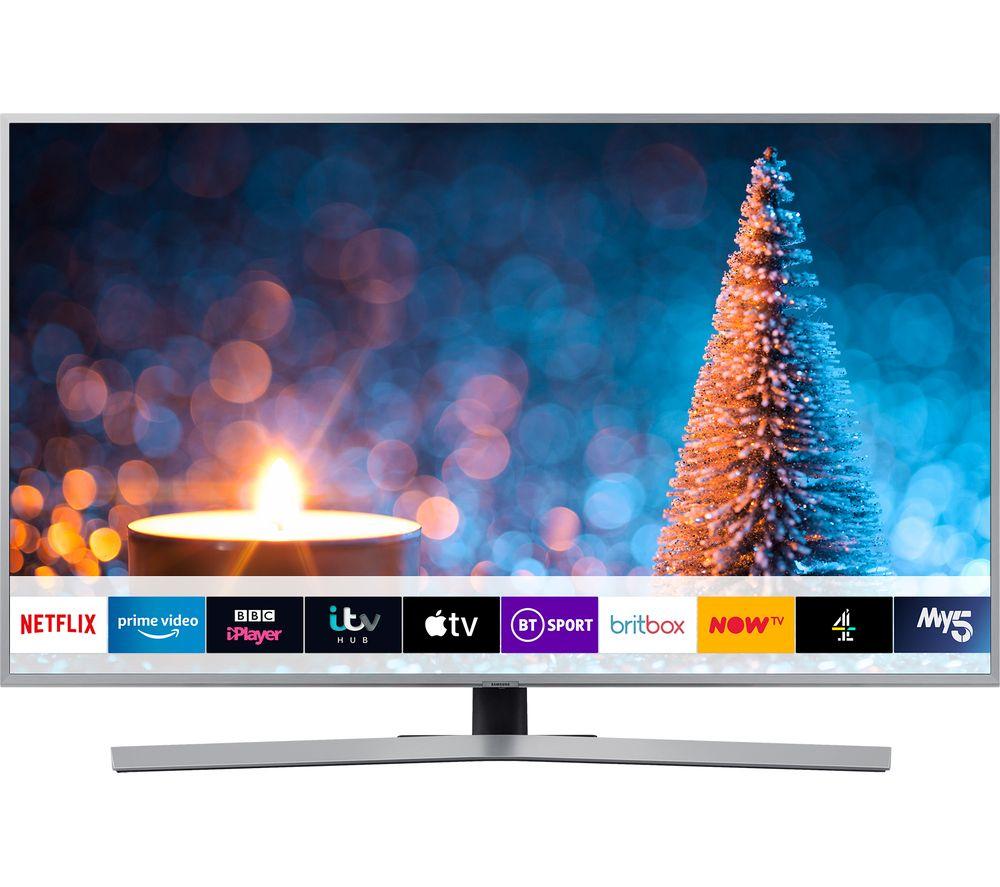 "SAMSUNG UE65RU7470UXXU 65"" Smart 4K Ultra HD HDR LED TV with Bixby £699 at Currys PC World"
