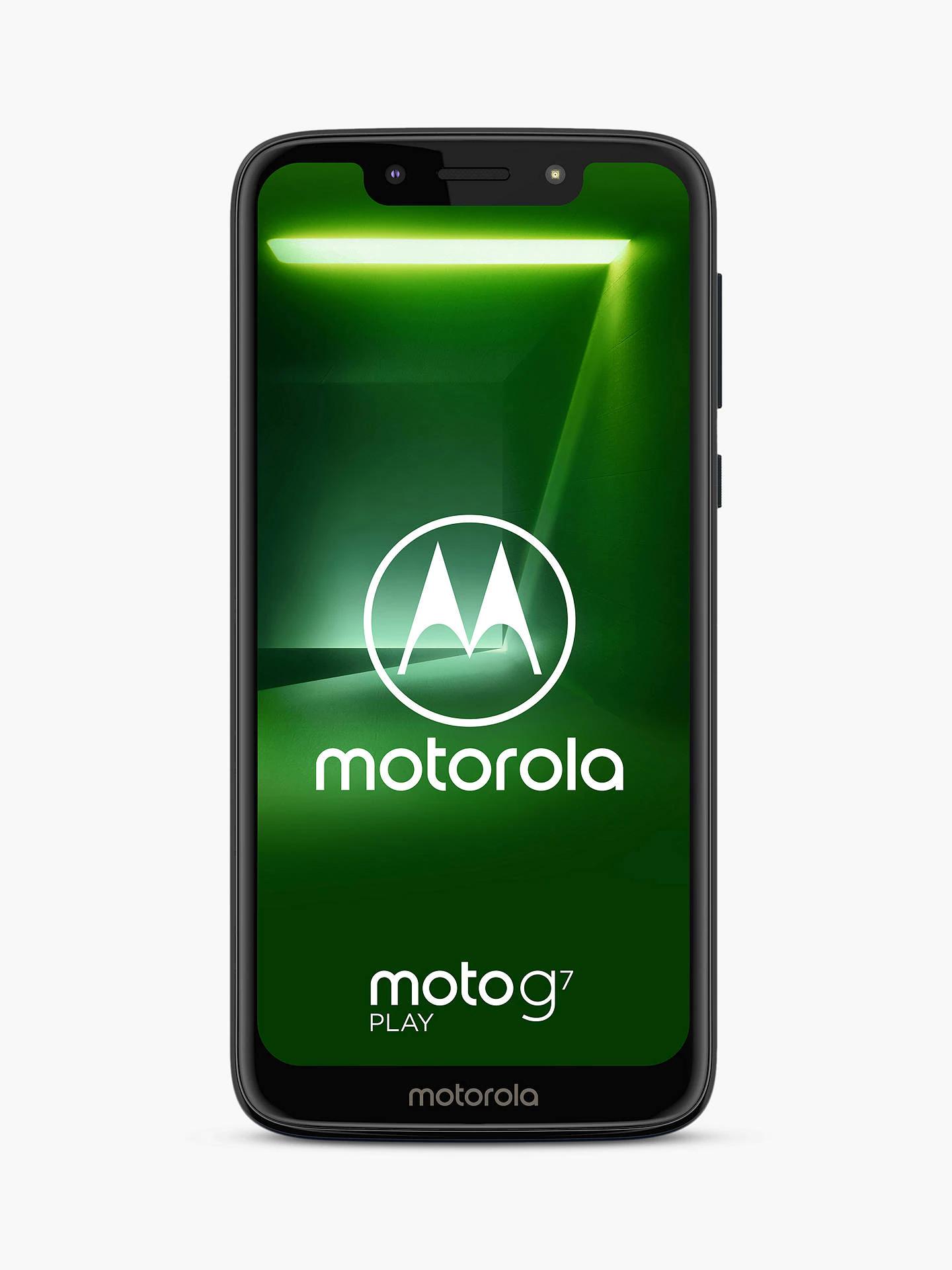 "Motorola g7 Play Dual SIM Free Smartphone, Android, 5.7"", 4G LTE, SIM Free, 32GB, Indigo - £105 delivered @ John Lewis & Partners"