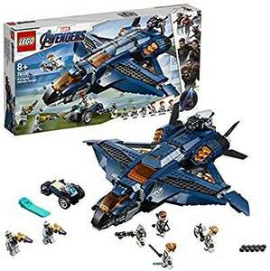 LEGO 76126 Marvel Avengers Ultimate Quinjet Plane, Super Heroes Playset Includes Black Widow,Hawkeye,Rocket &Thor Minifigures £50 @ Amazon