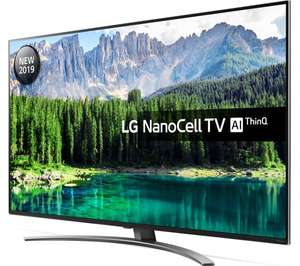 """LG 55SM8600PLA 55"""" Smart 4K Ultra HD LED TV with Google Assistant £645 at Currys PC World"""
