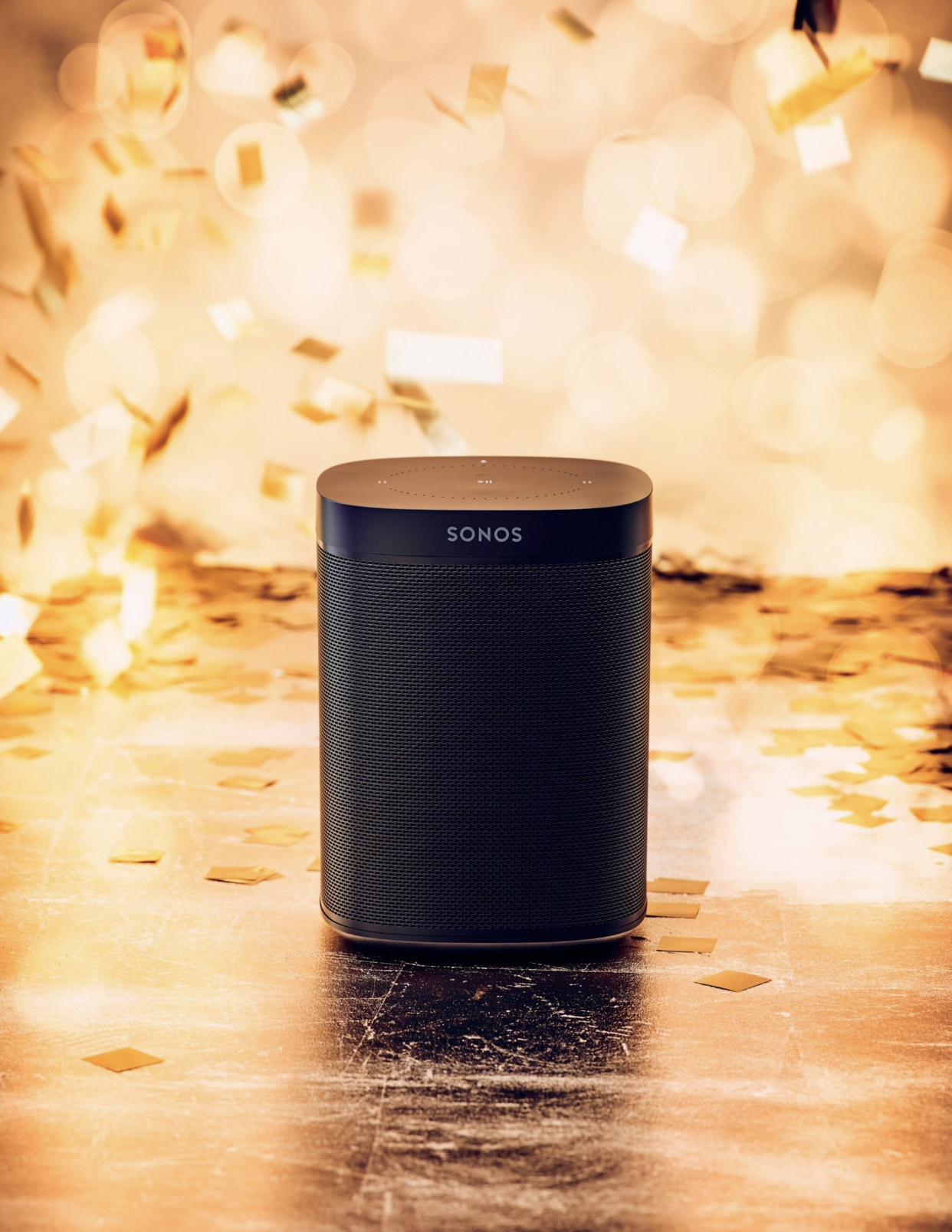Sonos One (Gen 2) Smart Speaker with Voice Control, Black £149 at John Lewis & Partners