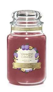 Yankee Candle Sugar Plum Large Jar (Free Delivery Over £15, Top Cashback 10%) £12 at Yankee Candle Shop