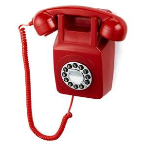 GPO retro 746 push button wall telephone £19.99 at IWOOT.com, £3.99 delivery or free on orders over £30